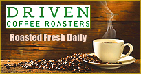 Fine coffee roasted fresh daily.